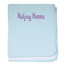 Mahjong Momma baby blanket