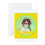 Beagle Bitch Diva Greeting Cards (Pk of 10)