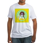 Beagle Bitch Diva Fitted T-Shirt