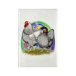 Easter Egg Wyandottes Rectangle Magnet (10 pack)