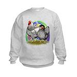 Easter Egg Wyandottes Kids Sweatshirt