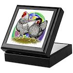 Easter Egg Wyandottes Keepsake Box