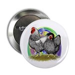 "Easter Egg Wyandottes 2.25"" Button (100 pack)"