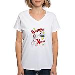 Student Nurse XXX Women's V-Neck T-Shirt
