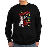 Student Nurse XXX Sweatshirt (dark)