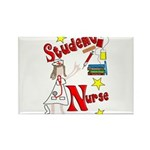 Student Nurse XXX Rectangle Magnet