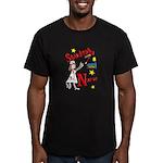 Student Nurse XXX Men's Fitted T-Shirt (dark)