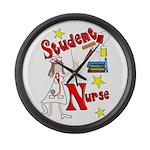 Student Nurse XXX Large Wall Clock