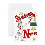 Student Nurse XXX Greeting Card