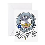 Drummond Clan Badge Greeting Cards (Pk of 10)
