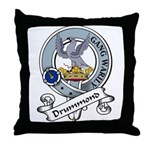 Drummond Clan Badge Throw Pillow