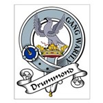 Drummond Clan Badge Small Poster