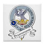 Drummond Clan Badge Tile Coaster