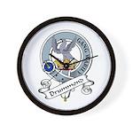 Drummond Clan Badge Wall Clock
