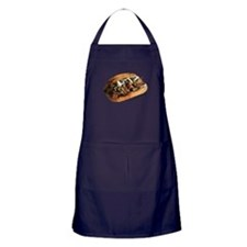 Cute Steak cheese Apron (dark)