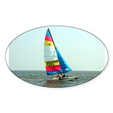 Hobie Cat Oval Decal