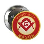 Prince Hall Mason Button