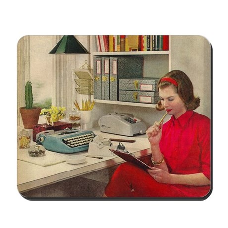 'Vexed in the City' Mousepad