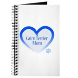 Cairn Terrier Blue Heart Journal