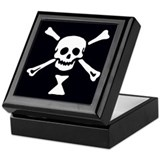 Emanuel Wynne Pirate Flag Keepsake Box