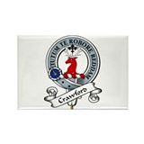 Crawford Clan Badge Rectangle Magnet (10 pack)