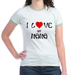 I Love My Nana Jr. Ringer T-Shirt