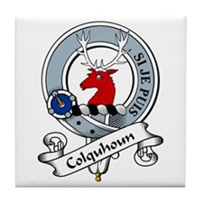 Colquhoun Clan Badge Tile Coaster