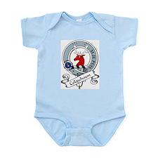 Colquhoun Clan Badge Infant Creeper