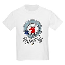 Colquhoun Clan Badge Kids T-Shirt