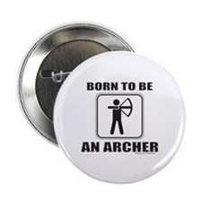 "ARCHER/ARCHERY 2.25"" Button (100 pack)"