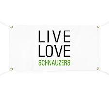 Live Love Schnauzers Banner