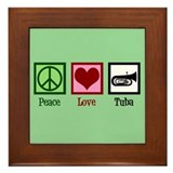 Peace Love Turtle iPad Case
