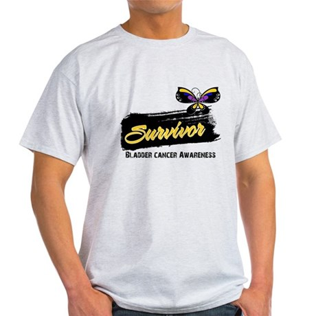 Bladder Cancer Survivor Light T-Shirt