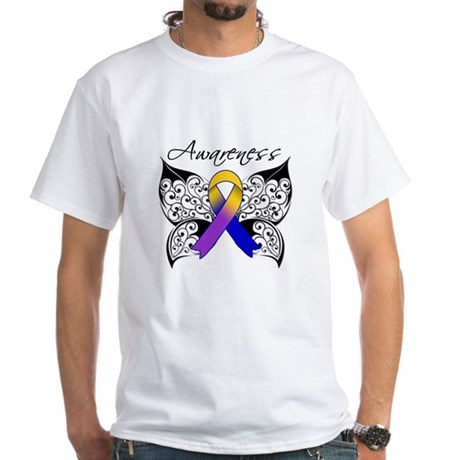 Bladder Cancer Awareness White T-Shirt