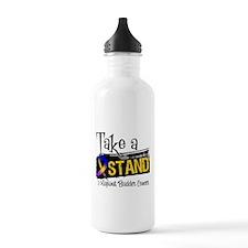 Take a Stand Bladder Cancer Water Bottle