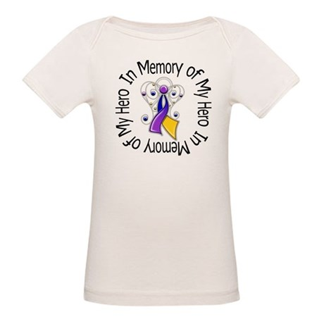 In Memory - Bladder Cancer Organic Baby T-Shirt