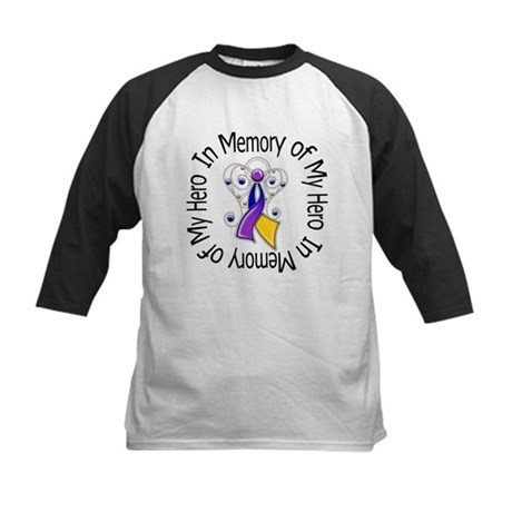 In Memory - Bladder Cancer Kids Baseball Jersey