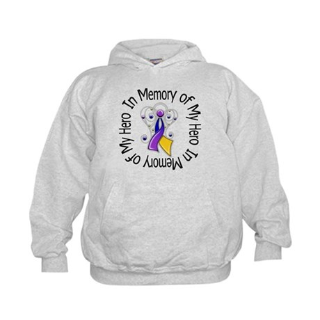 In Memory - Bladder Cancer Kids Hoodie
