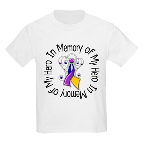 In Memory - Bladder Cancer Kids Light T-Shirt