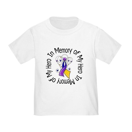 In Memory - Bladder Cancer Toddler T-Shirt