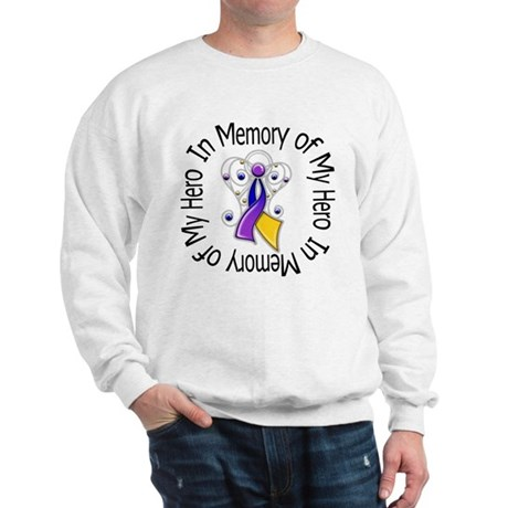 In Memory - Bladder Cancer Sweatshirt