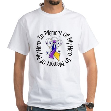 In Memory - Bladder Cancer White T-Shirt