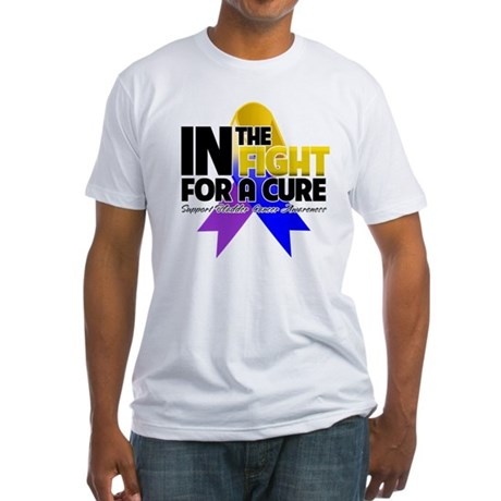 In The Fight - Bladder Cancer Fitted T-Shirt