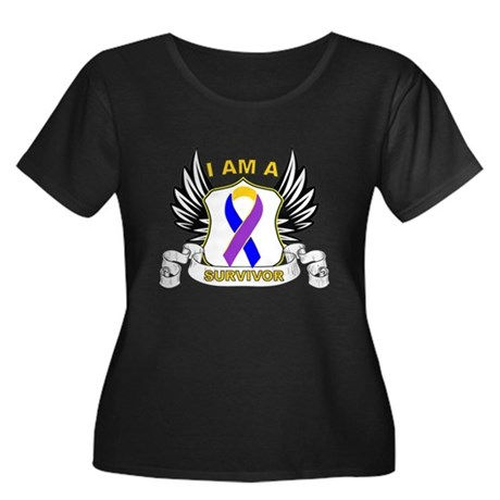 Survivor - Bladder Cancer Women's Plus Size Scoop