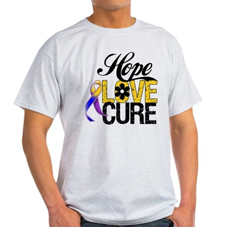 Hope Love Cure Bladder Cancer Light T-Shirt