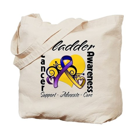 Awareness Bladder Cancer Tote Bag