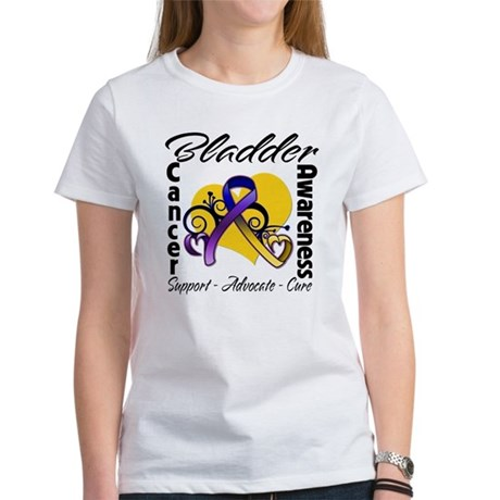 Awareness Bladder Cancer Women's T-Shirt