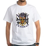 US Navy Veteran Skull Shirt