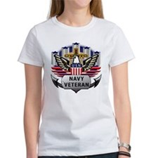 Official US Navy Veteran logo Redo Tee