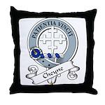 Cheyne Clan Badge Throw Pillow